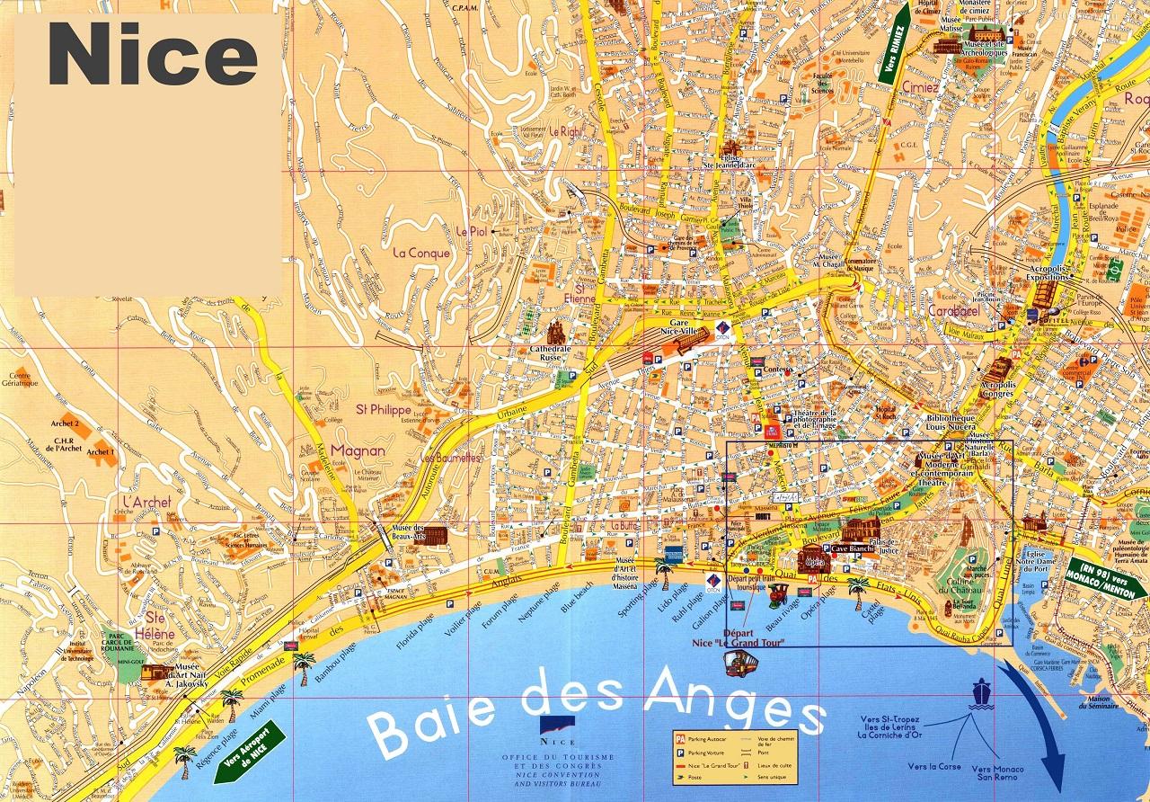 nice-sightseeing-map