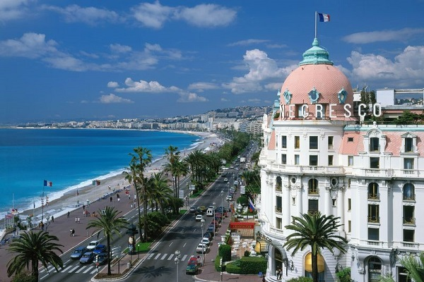 The Promenade Des Anglais Or English Promenade In Nice